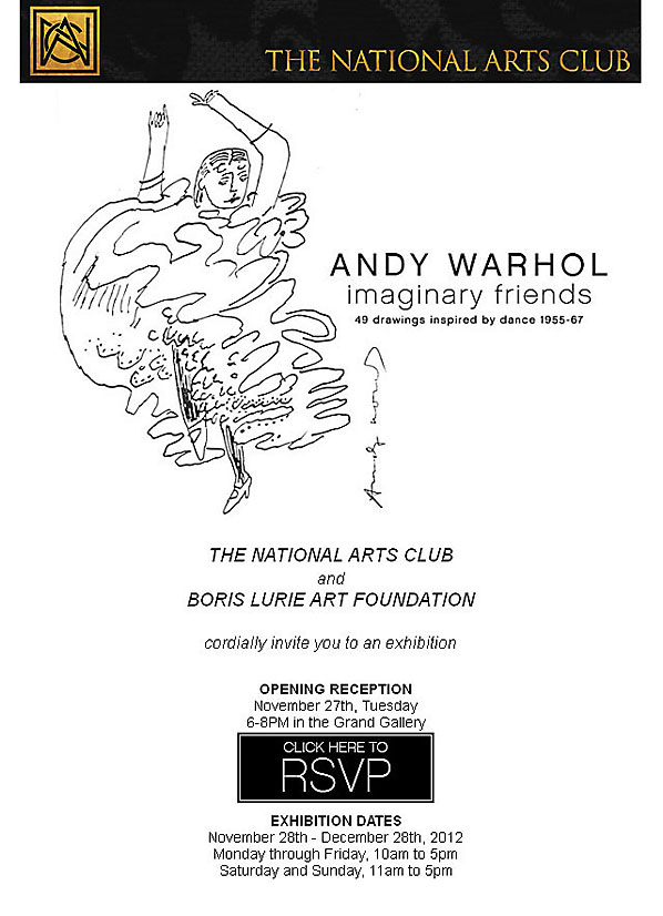 National Arts Club announcement
