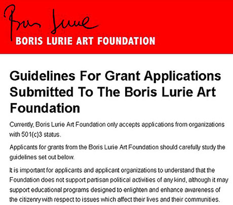 Guidelines for Grants